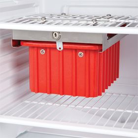 Refrigerator Storage Box, Key Lock