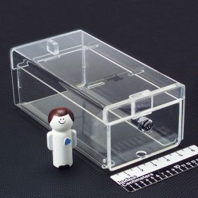 Small Locking Refrigerator Storage Box, Acrylic - 3723