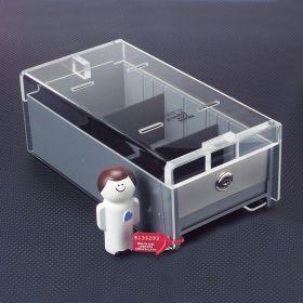 Small Locking Refrigerator Storage Box, Acrylic - 3728
