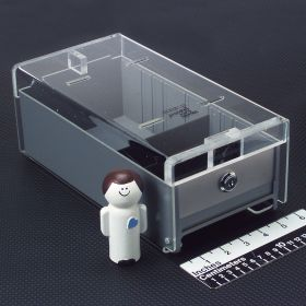Small Locking Refrigerator Storage Box, Acrylic - 3729
