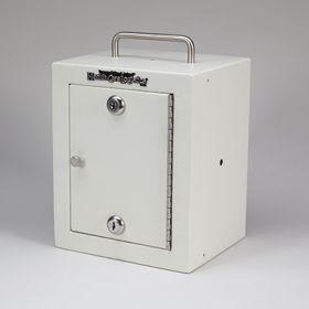 Compact Security Cabinet, 2 Locks, 1 Door