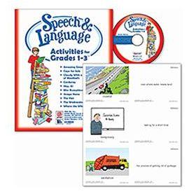 Speech & Language Activities for Grades 1-3