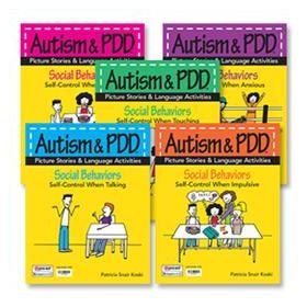 Autism & PDD Picture Stories & Language Activities Social Behaviors
