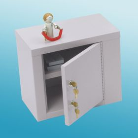 Narcotic Cabinet, Double Lock