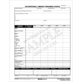 Occupational Therapy Progress Status Form