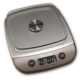 Taylor 3800N Digital Kitchen Scale-8 lb/4 kg Capacity