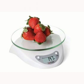 Taylor 3831WH Glass Digital Kitchen Scale