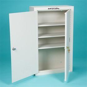 Narcotic Cabinet, 2 Locks, 2 Doors