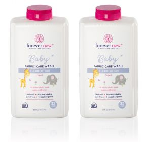Forever New 40332 32 oz. Baby Liquid Detergent-Clean Cotton-2/Pack
