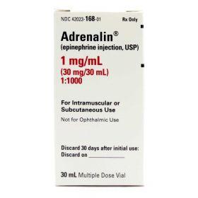 Adrenalin, 1 mg / mL Multi-Dose Vial, 30 mL