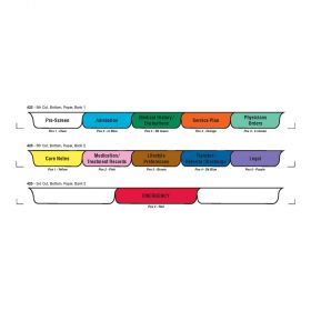 Chart Divider Set - Paper - Assisted Living - 11 Tabs Bottom