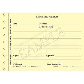 Repair Requisition 433/3