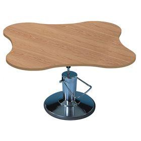 Hausmann 4338 4-Cutout Hydraulic Table