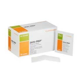 Skin Barrier Wipe Skin-Prep 75 to 100% Strength Isopropyl Alcohol Individual Packet Sterile
