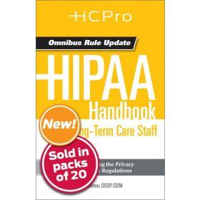 HIPAA Handbook for Long-Term Care Staff