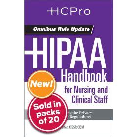 HIPAA Handbook for Nursing & Clinical Staff4712