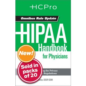 HIPAA Handbook for Nursing & Clinical Staff4714
