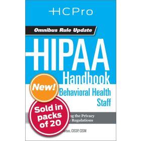 HIPAA Handbook for Nursing & Clinical Staff4716