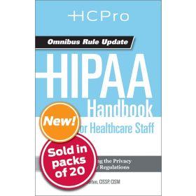 HIPAA Handbook for Nursing & Clinical Staff4720