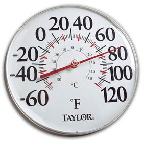 """Taylor 49562 12"""" Analog Thermometer"""