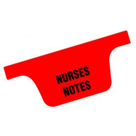 Chart Divider Set - Paper - Long-Term Care - 11 Tabs Side