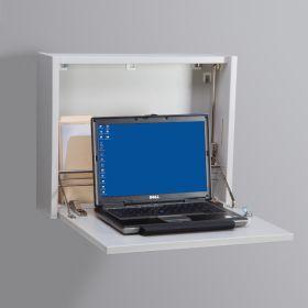 Laptop Wall Desk - White