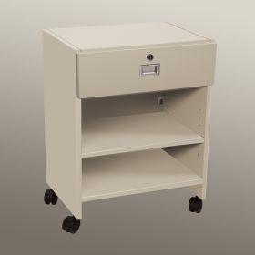 Mobile Locking Bedside Cabinet, Open Access - 5138WW