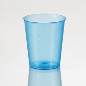 Narrow Graduated Med Cups, Blue, 30mL Pack 400