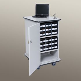 Patient Supply Cart with Accessories  -  5174WW