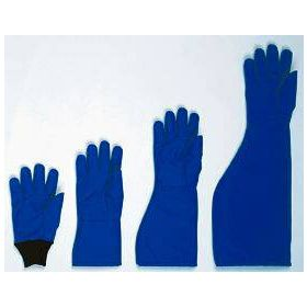 Cryogenic Glove Tempshield Cryo-Gloves Size 9 Water Resistant Material Blue 13.5 to 15.25 Inch Straight Cuff NonSterile