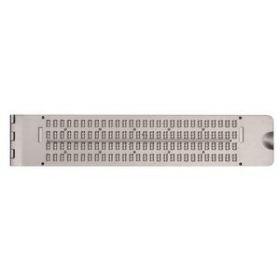 Braille Aluminum Slate Pin up