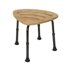 DMI Bamboo Bath Spa Bench and Shower Stool