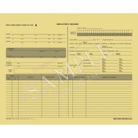 Employee Record Folder