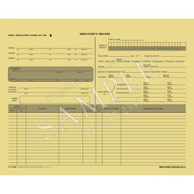 Employee Record Folder (Expandable)