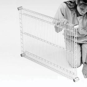 Heavy-Duty Flat Shelf for Shelving Unit