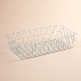 """Basket For Folding Wire Cart w/ 6"""" and 12"""" Baskets, 6 Inch H"""