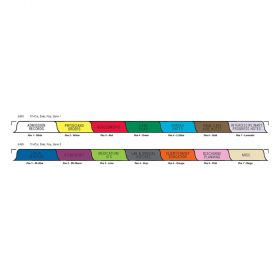 Chart Divider Set - Poly - Home Care - 14 Tabs Side