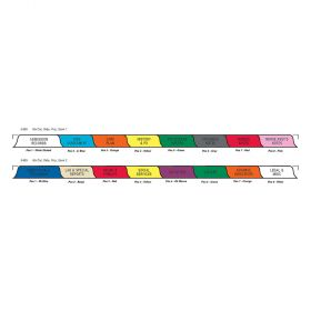Chart Divider Set - Poly - Long-Term Care - 16 Tabs Side