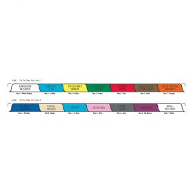 Chart Divider Set - Poly - Long-Term Care - 14 Tabs Side