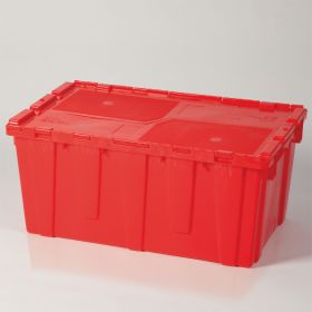 Hinged Lid Transfer Box - 5536 - Red