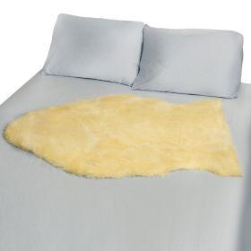 DMI NATURAL SHEEPSKIN WOOL COMFORT MATTRESS BED MAT