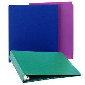 """Ringbinder - Economy -1"""" Side Open 3-Ring - Emerald Green"""
