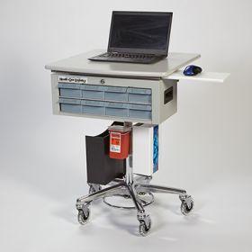 Medication Palwow Workstation On Wheels
