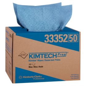 Cleanroom Wipe KIMTECH PURE W4 ISO Class 4 White NonSterile Polypropylene 9 X 9 Inch Disposable