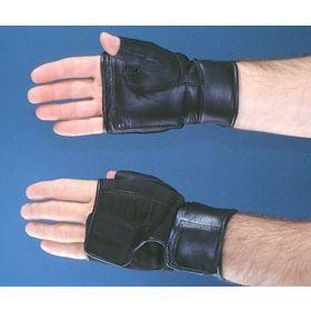 Push Glove Hatch Heavy-Duty Fingerless Small / Medium Black Hand Specific Pair