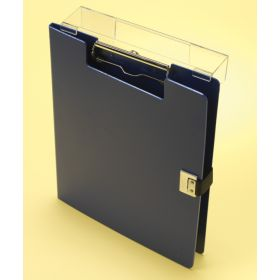 Clipboard - Poly - Covered - Overbed - Blue