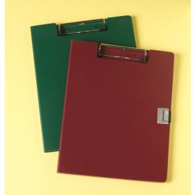 Clipboard - Poly - Covered - Burgundy