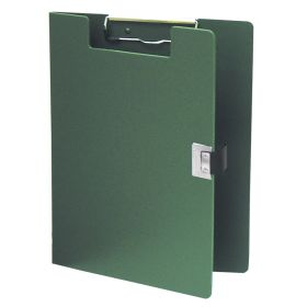 Clipboard - Poly - Covered - Forest Green