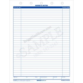 Nurses Notes 5-Hole Top Punch Top Form