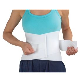 DMI LUMBAR SUPPORT BACK BRACE WITH RIGID STEEL STAY